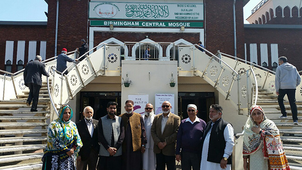 Hepatitis c outreach at Birmingham Mosque